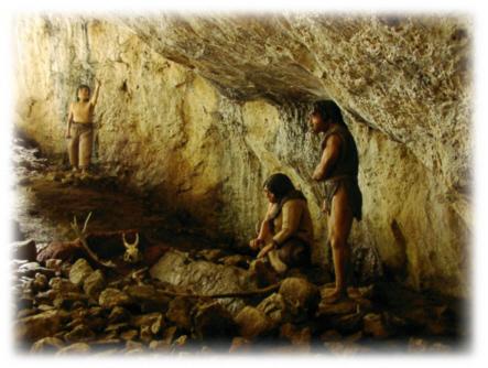 Neandertaler Höhle